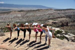 Yoga & hiking can be a fun combination!